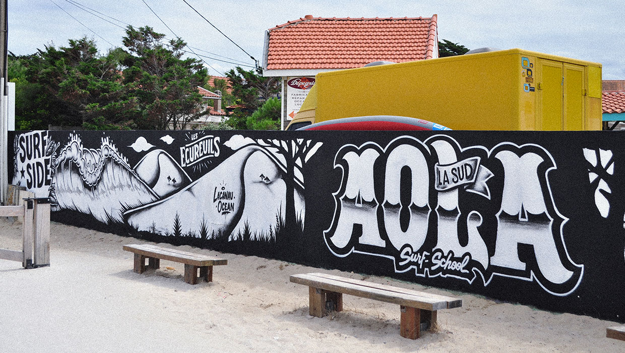 WALL : AOLA SURF SCHOOL